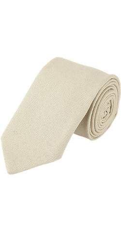 Wooster + Lardini  - Brushed Canvas Neck Tie