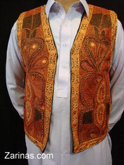 Zarinas - Qaseem Embroidered Vest