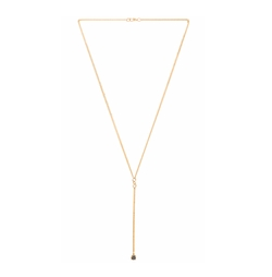 Wolf Circus - Stone Lariat Necklace