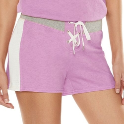 Juicy Couture - Mesh French Terry Shorts
