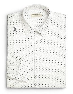Burberry London - Polka-Dot Print Dress Shirt