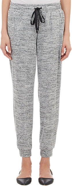 Barneys New York - Mélange Cropped Sweatpants