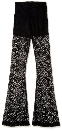 Show Me Your Mumu - Bam Lava Lace Bell Bottom Pants