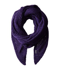 Calvin Klein - Sequin Eyelet Angled Scarf