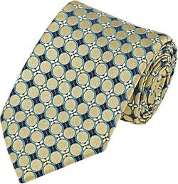 Fairfax  - Circle & Floral Jacquard Necktie