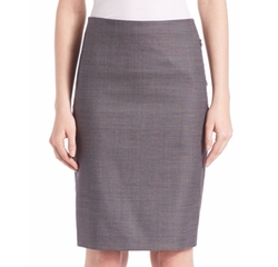Elie Tahari - Tulia Textured Pencil Skirt