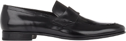 Prada - Spazzolato Penny Loafer Shoes