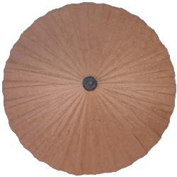 BLOWOUT  - Brown Thailand Paper Parasol