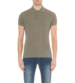 Armani Jeans - Slim-Fit Cotton-Piqué Polo Shirt