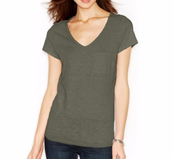 Maison Jules - V-Neck Pocket T-Shirt
