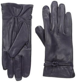 Isotoner - Fleece Lining Leather Gloves
