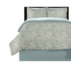 Beco Home  - Paisley Printed Comforter Full/Queen