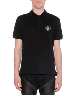 Givenchy - Polo With Rottweiler-Embroidery