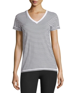 T by Alexander Wang - Superfine Jersey V-Neck Tee