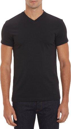 Jil Sander  - Basic V-Neck T-Shirt