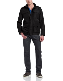 Kenneth Cole Reaction - Four Pocket Military Coat