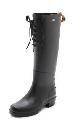 AIGLE  - Miss Juliette Lace Up Boots