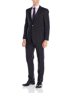 Calvin Klein - Marby Black Two-Button Suit