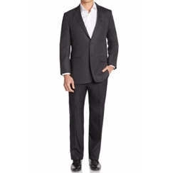Versace Collection  - Regular-Fit Solid Wool Suit