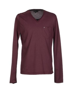 Richmond X - Long Sleeve V-Neck T-Shirt