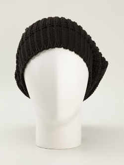 Rick Owens - Ribbed Beanie Hat