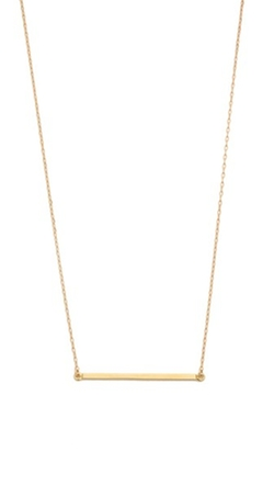 Kristen Elspeth - Medium E / W Bar Necklace