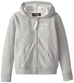Freestyle Revolution - Hoodie With Lace Star Applique