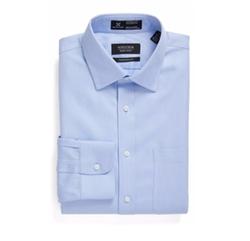Nordstrom - Smartcare Traditional Fit Herringbone Dress Shirt