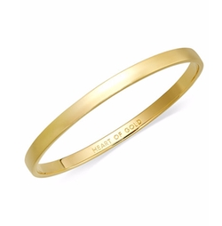 Kate Spade New York - Heart Of Gold Idiom Bangle Bracelet