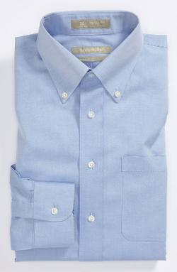 Nordstrom - Smartcare Wrinkle Free Traditional Fit Pinpoint Dress Shirt