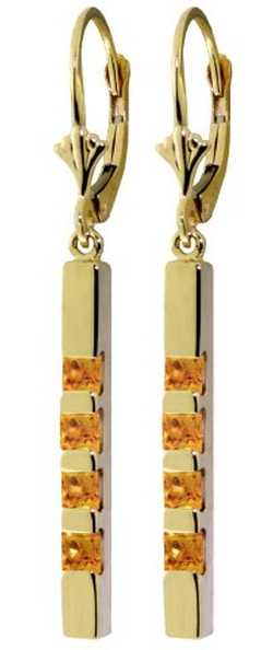 Her Choice Jewelry - Leverback Bar Earrings
