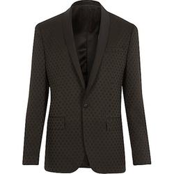 River Island - Polka Dot Slim Tux Suit Jacket