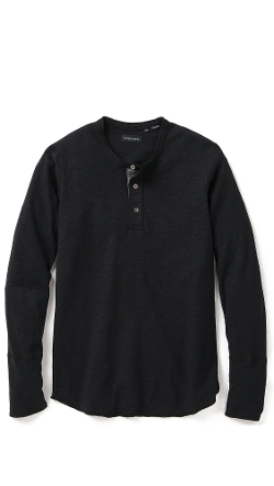 Wings + Horns  - Base Henley Shirt