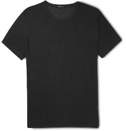 Alexander Wang - Crew Neck Slubbed Jersey T-Shirt