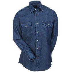 Wrangler - Long Sleeve Western Work Shirt
