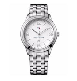 Tommy Hilfiger - Silver-Tone Bracelet Watch