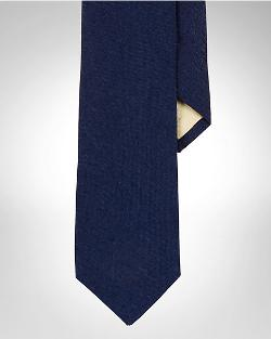 Ralph Lauren - Narrow Linen Tie