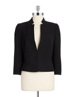 Tahari Arthur S. Levine  - Seamed Stand Collar Jacket