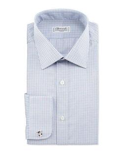 Charvet - Check French-Cuff Dress Shirt
