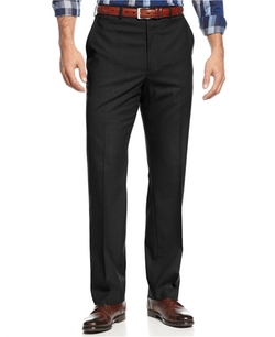 Michael Kors  - Solid Classic-Fit Stretch Dress Pants