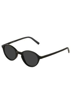 Collins Bridge - Cooper Black Round Sunglass