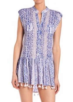 Poupette St Barth  - Heni Mini Fringe Hem Dress