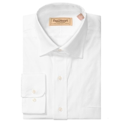 Paul Stuart  - Two-Ply Pinpoint Dress Shirt