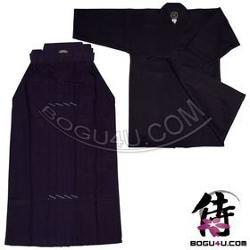 Bogu4u - Blue Tetron Kendo Hakama and Blue Kendo Keikogi