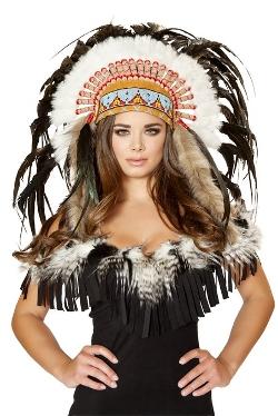 Roma Costume - Native American Headdress