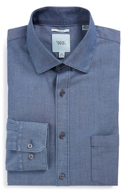 W.R.K  - Extra Trim Fit Solid Dress Shirt