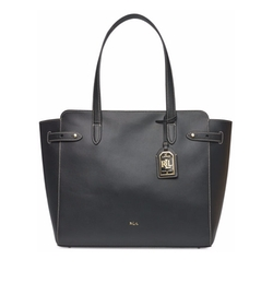 Lauren Ralph Lauren - Harper Parker Leather Tote Bag
