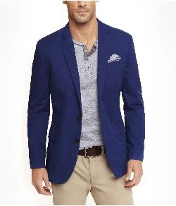Express - Blue Twill Blazer
