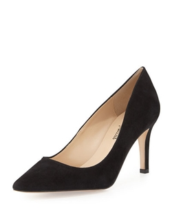 Neiman Marcus - Cissy High-Heel Point-Toe Pumps