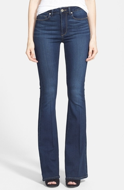 Paige Denim - High Rise Bell Bottom Jeans